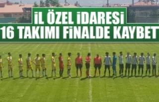 İl Özel İdaresi U 16 Takımı Finalde Kaybetti