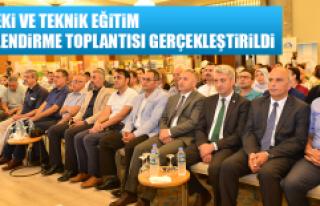 Mesleki ve Teknik Eğitim Bilgilendirme Toplantısı...
