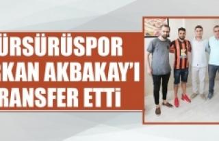 Sürsürüspor, Serkan Akbakay'ı Transfer Etti