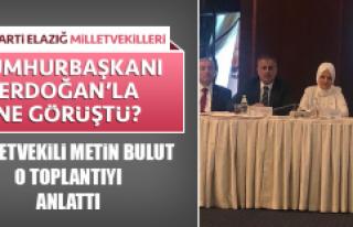 AK Parti Elazığ Milletvekilleri Cumhurbaşkanı...