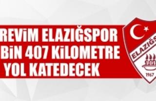 Birevim Elazığspor 14 Bin 407 Km Yol Katedecek