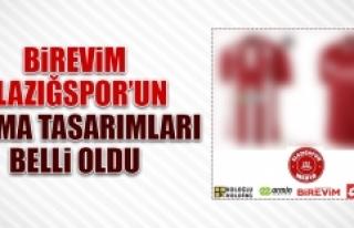 Birevim Elazığspor'un Forma Tasarımları Belli...