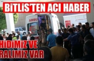 Bitlis'ten Acı Haber
