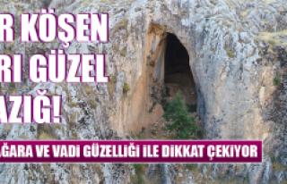 Bu Mağara ve Vadi Güzelliği İle Dikkat Çekiyor
