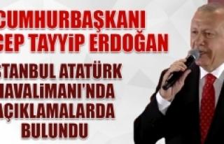 Cumhurbaşkanı Erdoğan, 15 Temmuz'un 3. Yıldönümünde...