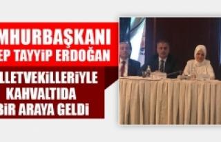 Cumhurbaşkanı Erdoğan, Milletvekilleriyle Toplantı...