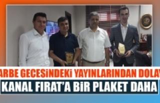 Darbe Yayınlarından Dolayı Kanal Fırat'a Bir...