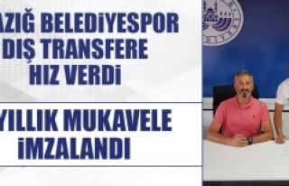 Elazığ Belediyespor Dış Transfere Hız Verdi
