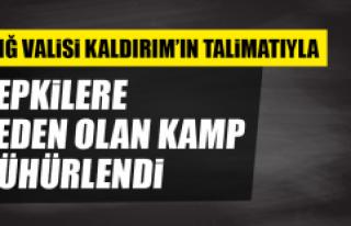 Elazığ Valisi Kaldırım'ın Talimatıyla Tepkilere...
