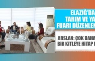 Elazığ'da Tarım ve Yapı Fuarı Düzenlenecek