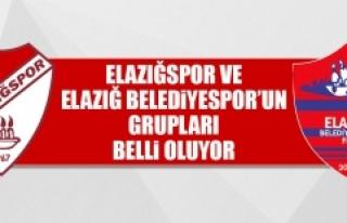 Elazığspor ve Elazığ Belediyespor'un Grupları...