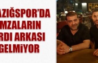 Elazığspor'da İmzaların Ardı Arkası Gelmiyor