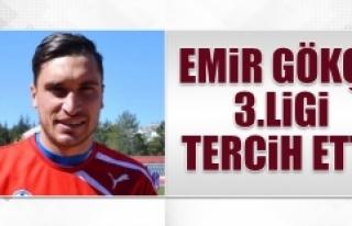Emir Gökçe, 3. Ligi Tercih Etti