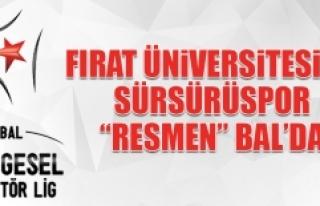 """F.Ü. ve Sürsürüspor """"Resmen"""" Bal'da"""