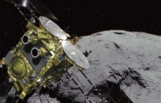 Japon uzay aracı Hayabusa2 Ryugu asteroidine ikinci...