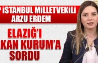 Milletvekili Erdem, Elazığ'ı Bakan Kurum'a...