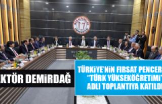 """Rektör Demirdağ, """"Türk Yükseköğretimi"""" Adlı..."""