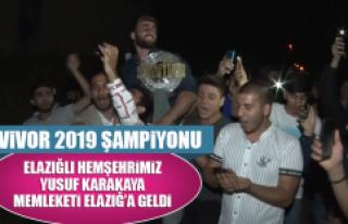 Survivor 2019 Şampiyonu Hemşehrimiz Karakaya Memleketi...