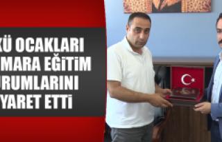 Ülkü Ocakları Marmara Eğitim Kurumlarını Ziyaret...