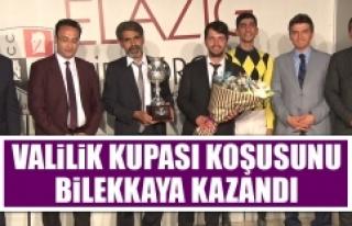 Valilik Kupası Koşusunu Bilekkaya Kazandı