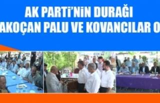 AK Parti'nin Durağı Karakoçan Palu ve Kovancılar...