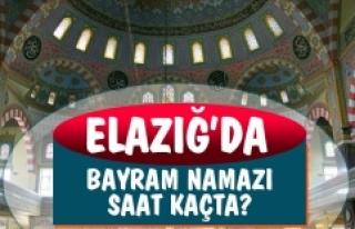 Elazığ'da Kurban Bayramı Namazı Saat Kaçta?