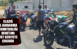 Elazığ İl Jandarma Komutanlığı Denetimi Üst...