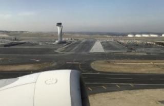 İstanbul Havalimanı'ndan saatte 53,5 sefer...