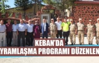 Keban'da Bayramlaşma Programı Düzenlendi
