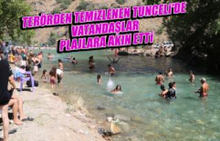 Terörden Temizlenen Tunceli'de Vatandaşlar,...