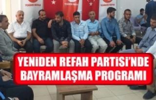 Yeniden Refah Partisi'nde Bayramlaşma Programı