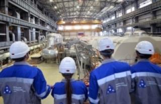 Akkuyu Nükleer Güç Santralinde çalışacak öğrenciler...
