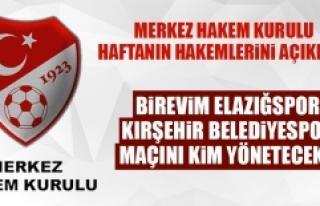 Kırşehir Belediyespor-Birevim Elazığspor Maçını...