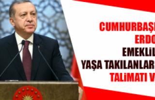 Cumhurbaşkanı Erdoğan Emeklilikte Yaşa Takılanlar...