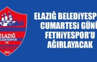 E.Belediyespor Cumartesi Günü Fethiyespor'u Ağırlayacak