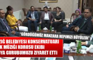 """""""GÖRDÜĞÜMÜZ MANZARA HEPİMİZİ BÜYÜLEDİ"""""""