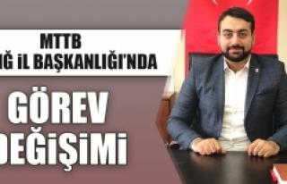 İl Başkanı Akgül, Veda Açıklaması Yaptı