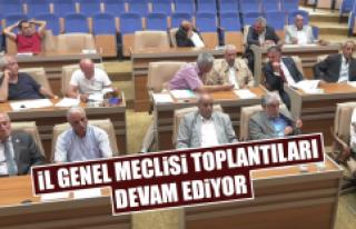 İl Genel Meclisi Toplantıları Üçüncü Oturumuyla...