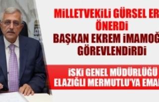 İSKİ Genel Müdürlüğü'ne Raif Mermutlu...