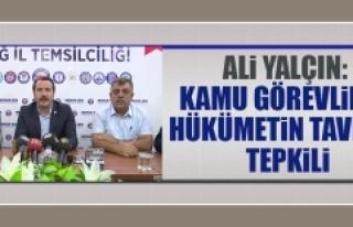 """""""Kamu Görevlileri Hükümetin Tavrına Tepkili"""""""