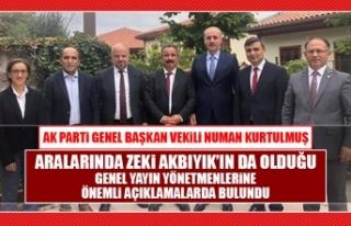 Numan Kurtulmuş, Anadolu Sohbetleri'nin Konuğu...