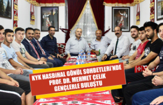 Prof. Dr. Mehmet Çelik Gençlerle Buluştu