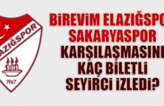 Sakaryaspor Karşılaşmasını Kaç Biletli Seyirci...