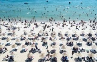 Turistik tesislerin temmuzdaki doluluk oranı yüzde...