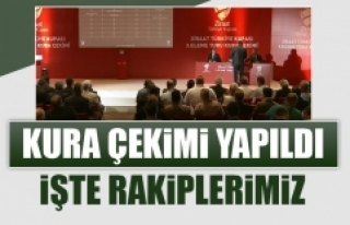 Ziraat Türkiye Kupası 3. Eleme Turu Kura Çekimi...