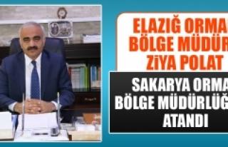 Ziya Polat, Sakarya Orman Bölge Müdürlüğü'ne...