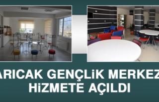 Arıcak Gençlik Merkezi Hizmete Açıldı