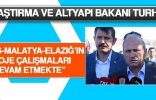 Bakan Turhan: Sivas-Malatya-Elazığ'ın Proje Çalışmaları...