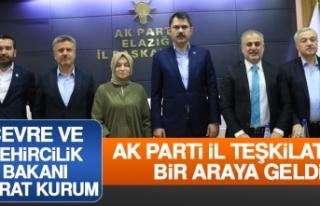 Bakanı Murat Kurum AK Parti İl Teşkilatı İle...