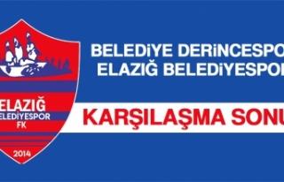 Belediye Derincespor 0 – 0 Elazığ Belediyespor